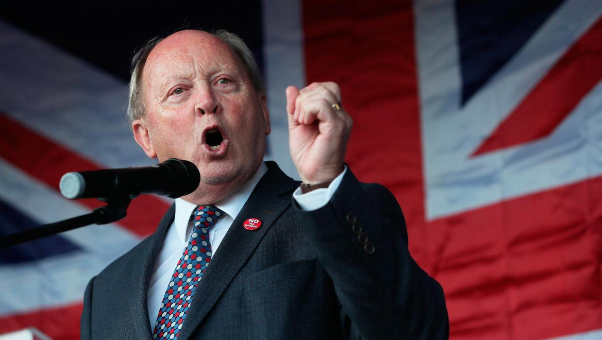 Ards Northern Ireland Protocol 'peace or protocol' poster 'reckless and inappropriate,' says TUV's Allister