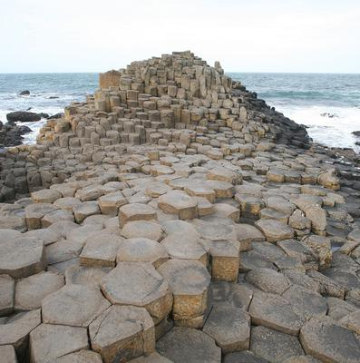 Cyclists taking part in the Giro D'Italia race will pass the landmark Giant's Causeway in North Antrim