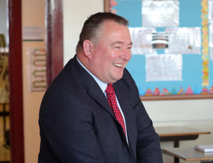 Confident: Gary Greer said safety measures at his school were working