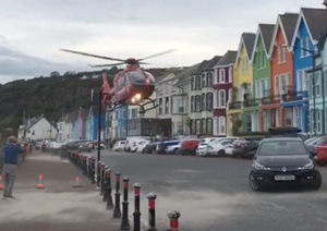 The Air Ambulance in Whitehead