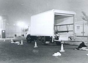 The food lorry at the centre of the breakout