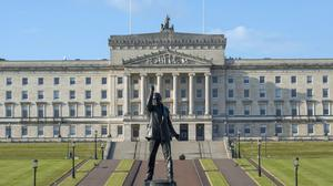 The Parliament Buildings at Stormont in Belfast (PA)