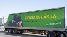 The controversial Paddy Power billboard