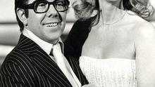 Singer Clodagh Rodgers and Ronnie Corbett