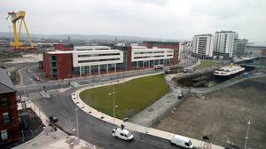 A project to build a campus at the Titanic Quarter is one of the ventures addressed in the report