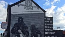 A loyalist mural on Newtownards Road in Belfast (David Young/PA)