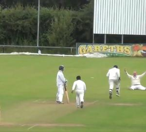 A video of a catch by Tyrone cricketer Junior McBrine has gone viral in the last 24 hours