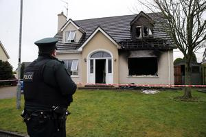 Around 29 firefighters tackled the inferno at Woodcraft Brae