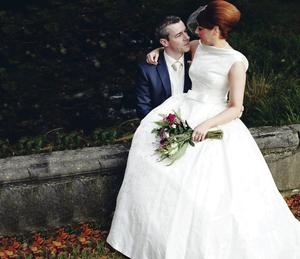 Matthew and Jacqueline Kelly met on the dating website PlentyofFish three years ago and married on November 9 at St Mary's Church in Newry.