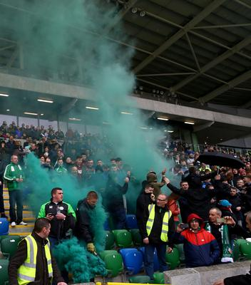Since their Irish Cup semi-final on 2016, life has been far from plane sailing for Lurgan Celtic.