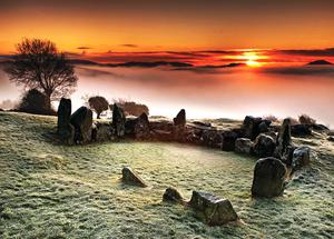 Leslie's stunning pictures capturing the grandeur of the Mournes
