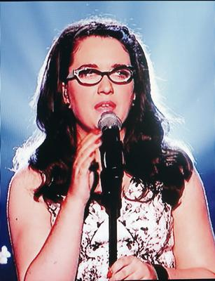 Sunday Life Features  The Voice UK Final andrea begley