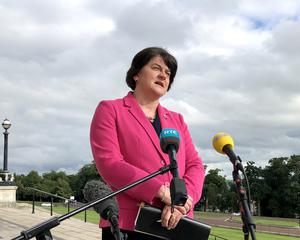 First Minister Arlene Foster said justice must be done (David Young/PA)