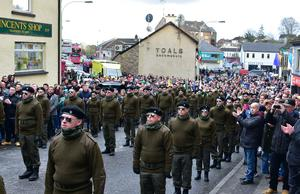 The National Republican Commemoration Committee parade in Coalisland