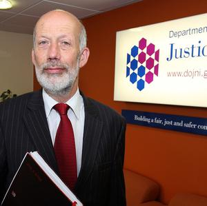Justice Minister David Ford said monitoring arrangements for sex offenders who left prison in Northern Ireland 15 years ago and no longer pose a risk to the public are to be relaxed.