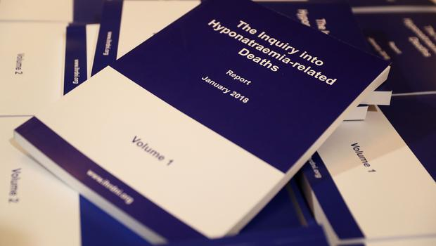 Copies of the findings of the hyponatraemia inquiry (PA)