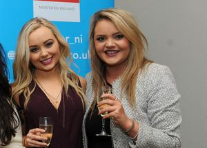 Communications students from University of Ulster at the CIPR Christmas bash in the Fitzwilliam Hotel, Belfast.