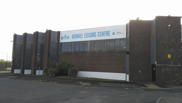 The spa at Avoniel Leisure Centre in east Belfast, which was closed three times due to legionella levels