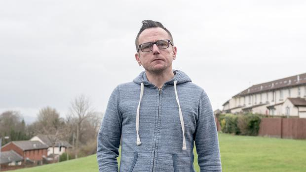 Denis Cairns from Londonderry who claims he was abused by a priest