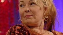 Roseanne Barr has been involved in a spat with Gerry Adams