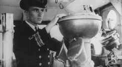 Len White as a young officer