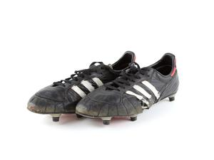 Whiteside's 1985 FA Cup Final match-worn Adidas boots: Estimate £3,000-5,000