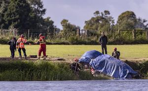 The car found in the River Bann at the weekend