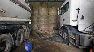 The claim was made as part of the C&AG's audit of efforts by customs to tackle fuel laundering