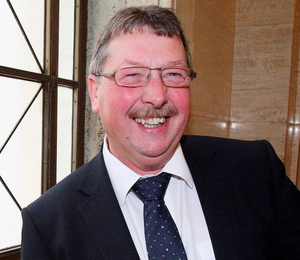 Hitting out: Sammy Wilson has lambasted the Green Party over its attitude towards drilling