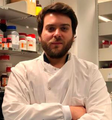 Research fellow at QUB and virologist Dr Connor Bamford