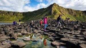 Over 1.5m visitors went to the Giants Causeway and Carrick a Rede in County Antrim last year. (National Trust NI/PA)