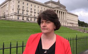 First Minister Arlene Foster said she has to 'recognise the reality' (Rebecca Black/PA)
