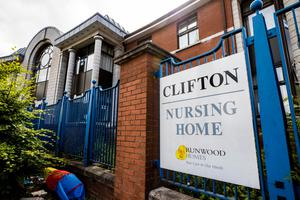 Clifton Nursing Home in north Belfast, where Colette had been working