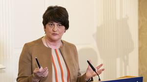 Arlene Foster said educational work at Northern Ireland's schools has come to an end due to Covid-19 (Liam McBurney/PA)