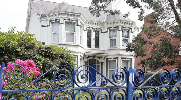 The former Kincora boys' home on the Upper Newtownards Road in east Belfast