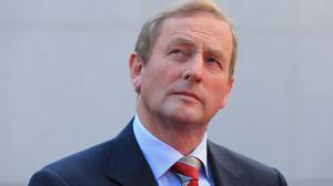 Irish premier Enda Kenny