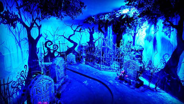 The newly redesigned ghost train ride at Barry's Amusements in Portrush