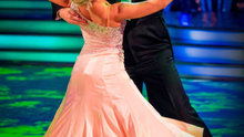 Daniel O'Donnell and his dance partner Kristina Rihanoff last night