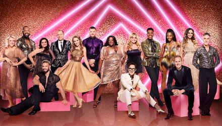 The class of Strictly Come Dancing, 2021