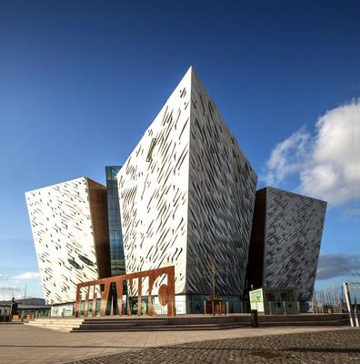 Titanic Belfast's income has dried up because of the pandemic