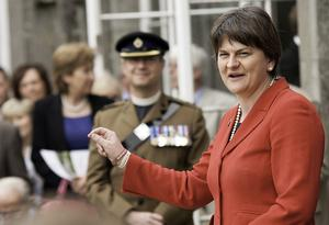 Arlene Foster MLA gives a talk at Crom Castle to commemorate the 70th Anniversary of D-Day