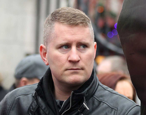 Parade: Britain First's Paul Goulding
