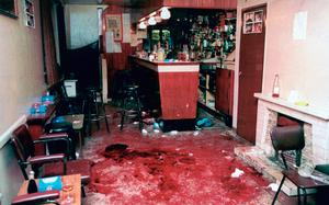 The scene at Loughinisland in 1994