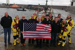 Donaghadee RNLI celebrate the donation made by the late John Bradley and his wife