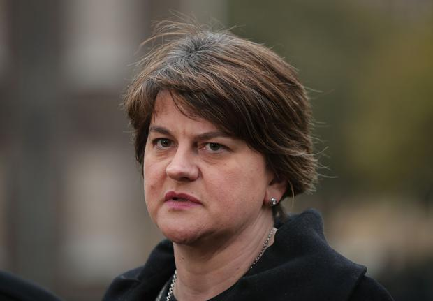 Jim Wells says he has not seen Arlene Foster for months (Yui Mok/PA)
