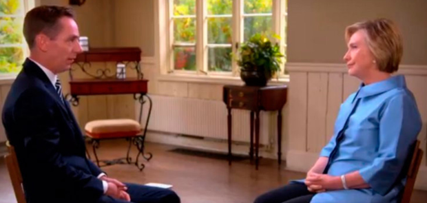Ryan Tubridy interviews Hillary Clinton for RTE's The Late Late Show