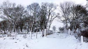 A picture of Glenshane taken and tweeted by Martin McGuinness