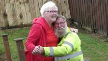 Close couple: Eileen and Charlie Page were married for 53 years