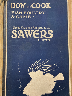 Nostalgia: An old recipe book from Sawers