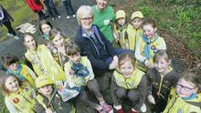 More than 1,200 Brownies and Girl Guides helped clean up Lorne Walk on the North Coast
